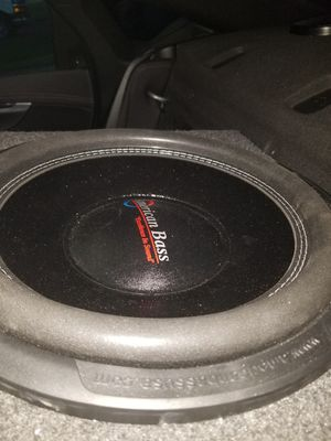 American bass xfl 15 new with a box for Sale in Columbus, OH