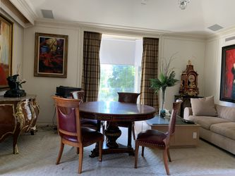 Antique Modern European Persian Dining table and chairs for Sale in Beverly Hills,  CA