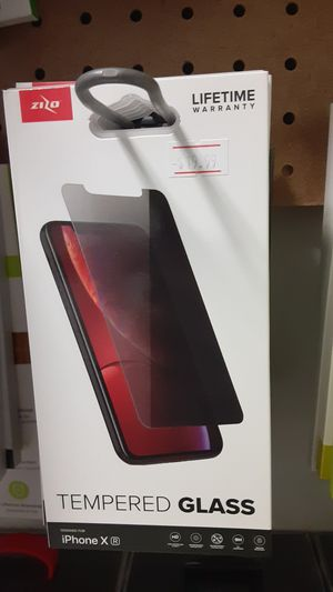 iPhone XR privacy glass!! for Sale in San Angelo, TX