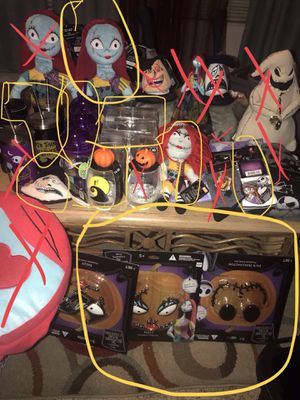 See pics a whole lot of Nightmare before Christmas items for Sale in San Jose, CA