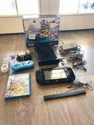 Nintendo Wii U Super Mario World Deluxe Bundle for Sale in Phoenix, AZ