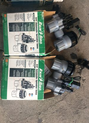 """3/4"" Automatic sprinkler valve for Sale in Los Angeles, CA"