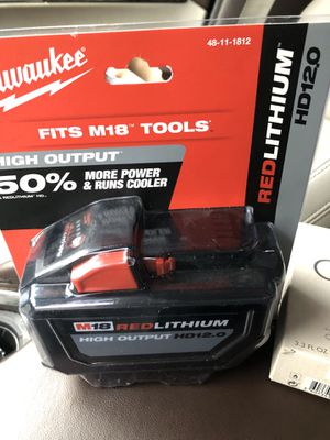 Milwaukee Battery new ! for Sale in San Antonio, TX