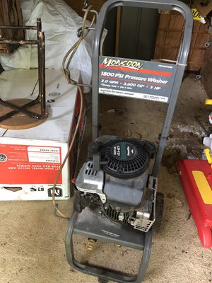 "Pressure Washer, Gas ""Monsoon"" brand for Sale in West Springfield, VA"