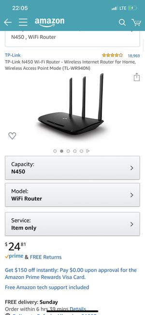 Wifi Router (Used for 2 Weeks) for Sale in Alhambra, CA