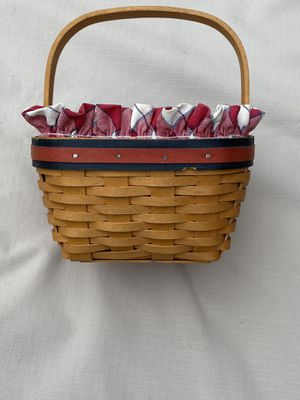 Longaberger strawberry basket 2001 for Sale in Huntington Beach, CA