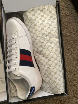Gucci sneakers men size 8 for Sale in Houston, TX