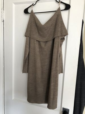 New York & Company Medium Off-the-Shoulder Sweater Dress *Brand New* for Sale in Columbus, OH