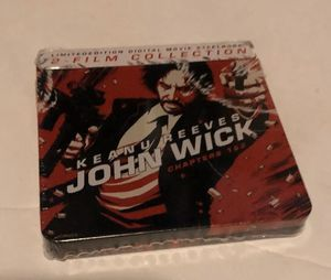 John Wick 1 & 2 Mini Steelbook Digital Movie Gamestop Exclusive new for Sale in North Smithfield, RI