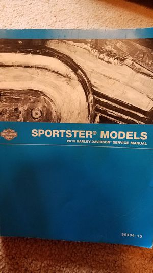 Harley Davidson Sportster Service Manual for Sale in Pittsburgh, PA