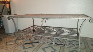 Wooden twine coffee table for Sale in Phoenix, AZ