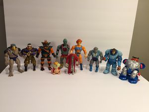 10 Action Figure Thundercats Lot - Vintage LJN Toys for Sale in Naperville, IL