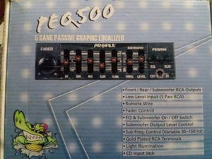 5 Band Graphic Equalizer for Sale in Ontario, CA