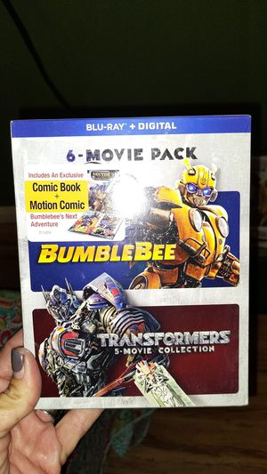 TRANSFORMERS 6 FILM COLLECTION BLURAY WITH DIGITAL UNOPENED for Sale in San Diego, CA