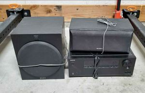 Surround Sound Components - Sony, Onkyo for Sale in San Pedro, CA