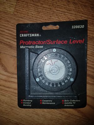 Craftsman Protector / Surface Level #939830 Magnetic base for Sale in Fort Lauderdale, FL