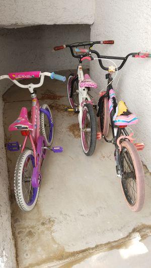 Girls Bikes - PICKUP ONLY for Sale in Las Vegas, NV