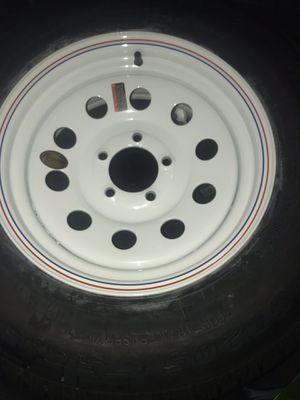 Trailer wheels and tires ST205/75R15 for Sale in Columbus, OH