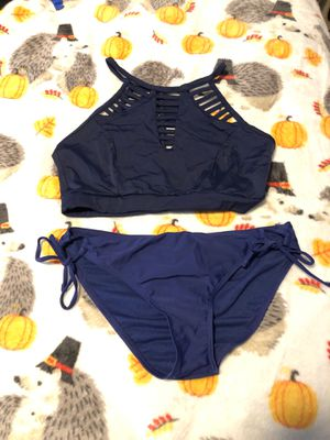 Navy blue bathing suit medium for Sale in Plant City, FL