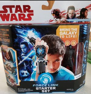 New Star Wars Force Link Starter Set with Kylo Ren Figure. for Sale in Apopka, FL