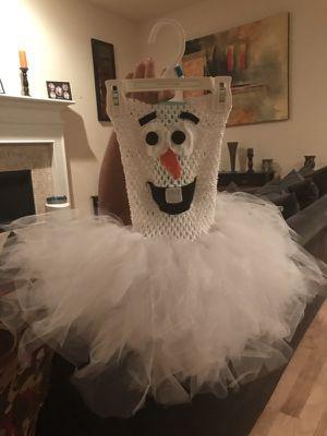 Olaf tutu costume- size 3t for Sale in Dallas, TX