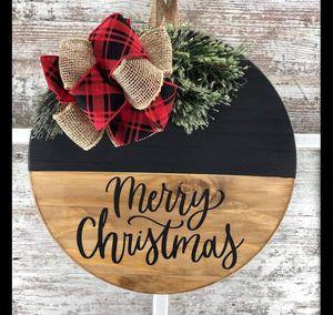 Merry Christmas Door Hanger for Sale in Arlington, TX