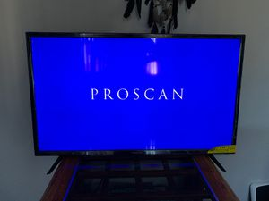 Proscan 40 inch TV 1080 HP - Roku and Fire Stick Compatible for Sale in Portland, OR
