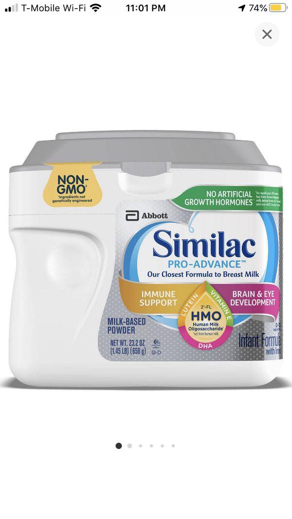 New Similac advance