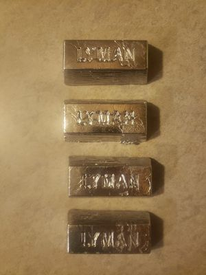Lead Ignot 1lb bars for Sale in Payson, AZ