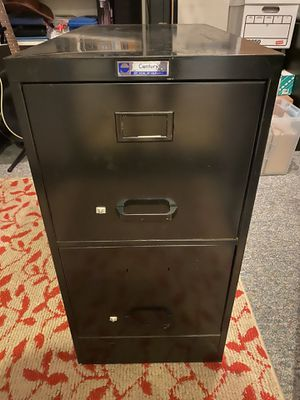Century 2 drawer file cabinet for Sale in Mission Viejo, CA