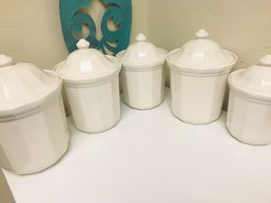 Pfaltzgraff vintage canister set for Sale in Medway, OH