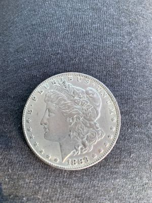 1883 Morgan s silver dollar could be worth thousands it's a 64 grade for Sale in Inwood, WV