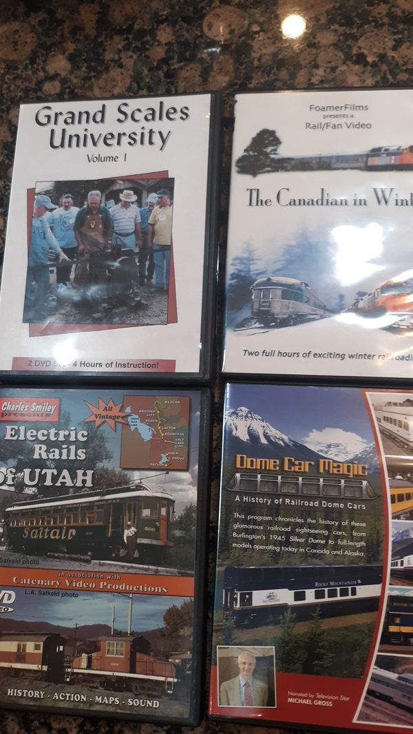 Train Enthusiastic dvds