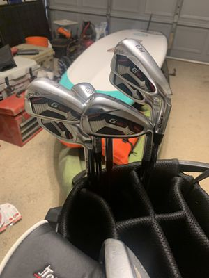 Ping G410 irons 5 thru PW Stiff Shaft for Sale in Windermere, FL