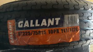 St225 75 r15 trailer tires 4 new $240 for Sale in Lake Elsinore, CA
