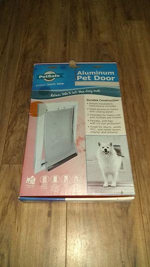Aluminum pet door for Sale in Long Beach, CA