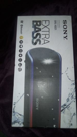 Sony extra bass Bluetooth speaker for Sale in Tacoma, WA