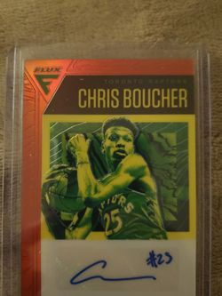 2019 Chronicles Chris Boucher Red Flux Rookie Auto for Sale in Ocean Shores,  WA