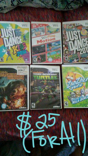 Wii games for Sale in Oliver Springs, TN
