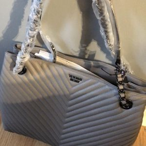 Gray Shoulder Tote Bag -Victorias's Secret $55 OBO for Sale in Glendale Heights, IL