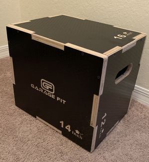 Jump/plyometrics box for Sale in Fort Lauderdale, FL