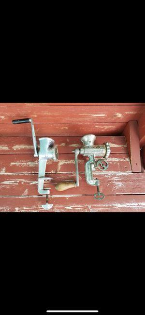 2 vintage grinders for Sale in Port St. Lucie, FL