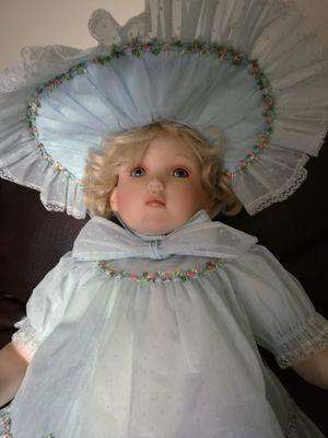 Porcelain Doll. Large/heavy for Sale in Deltona, FL