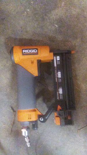 Ridgid Finishing Nailing Gun for Sale in Bakersfield, CA