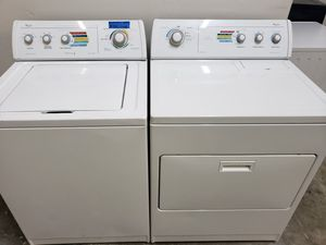 WHIRLPOOL WASHER AND ELECTRIC DRYER SET for Sale in Modesto, CA