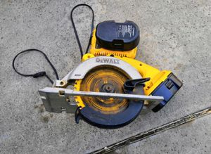 Dewalt saw with batteries and charger MAKE OFFER for Sale in West Covina, CA
