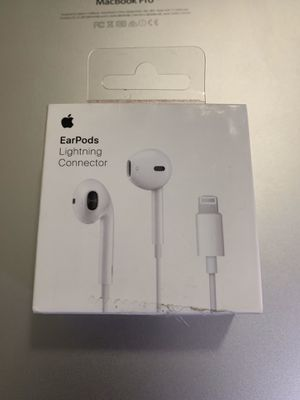 Apple Earbuds Headphones w/ lightning connector for Sale in New York, NY