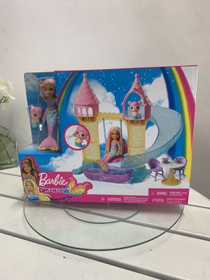 Barbie Dreamtopia Play set With Chelsea Mermaid Doll. for Sale in Fontana, CA
