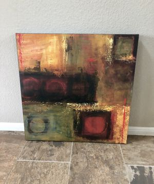 Abstract art on canvas for Sale in Round Rock, TX