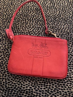 Coach leather small purse for Sale in Huntington Beach, CA